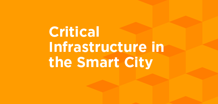 Critical Infrastructure in the Smart City banner