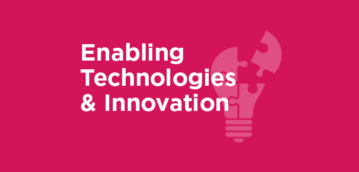 Enabling Technologies and Innovation banner